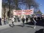 1 maj demonstrationen i Jönköping