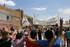 Demonstrationen i Kamishlo 25 maj 2012