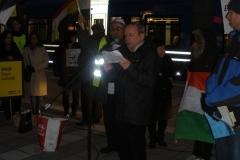 Manifestationen den 15 mars 2012 i Stockholm