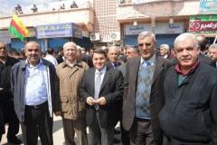 Demonstrationen i Kamishli i samband med Akitu 30-03-2012