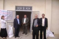 Hjälp till flyktingarna från Mosul